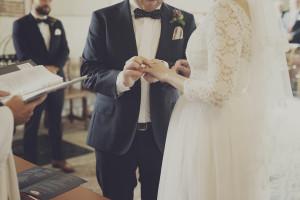 Bröllop i kyrka